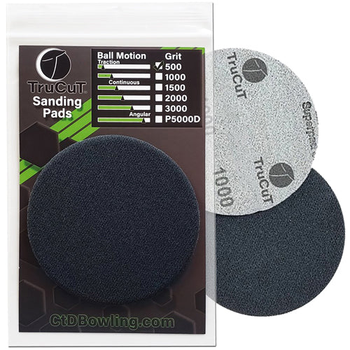 CtD TruCut <br>Sanding Pads <br>Assorted Grits