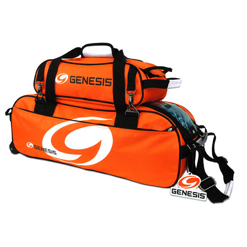 Genesis Sport<br>3 Ball Tote Roller<br>w/ Shoe Bag