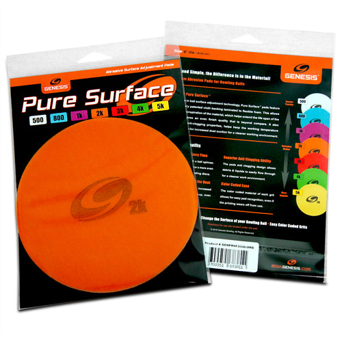 Genesis Pure Surface <br>Abrasive Pads <br>Assorted Grits