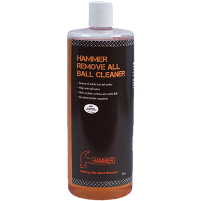 Hammer Remove All <br>Ball Cleaner <br>8 oz - 32 oz