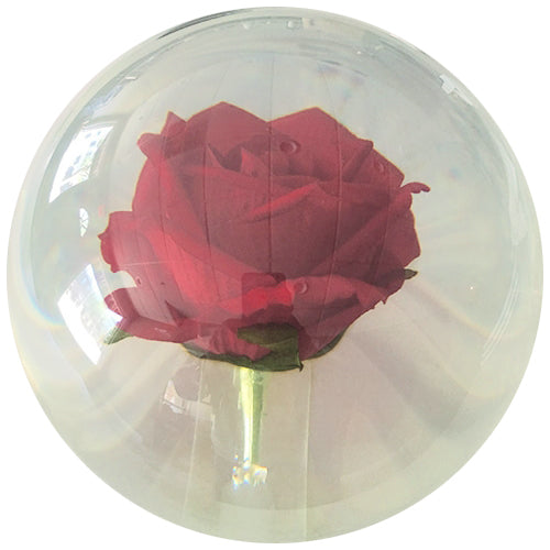 On The Ball<br>Clear Rose Ball
