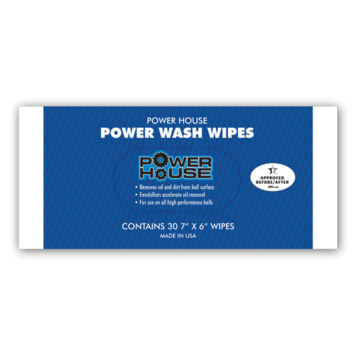 Powerhouse Power Wash <br>Ball Wipes <br>30 ct