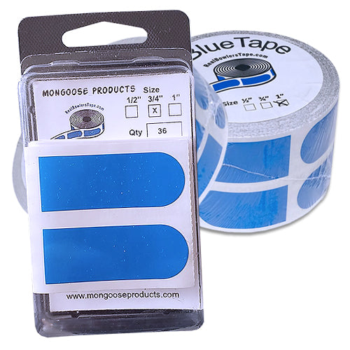 Mongoose Real Bowlers Tape <br>Smooth Insert Tape <br>Blue