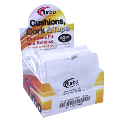 Turbo Shur Cushion<br>Insert Tape<br>2 ct or Case