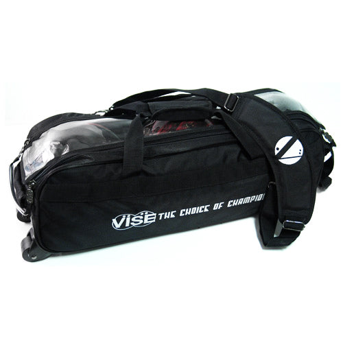 VISE Clear Top <br>3 Ball Tote Roller