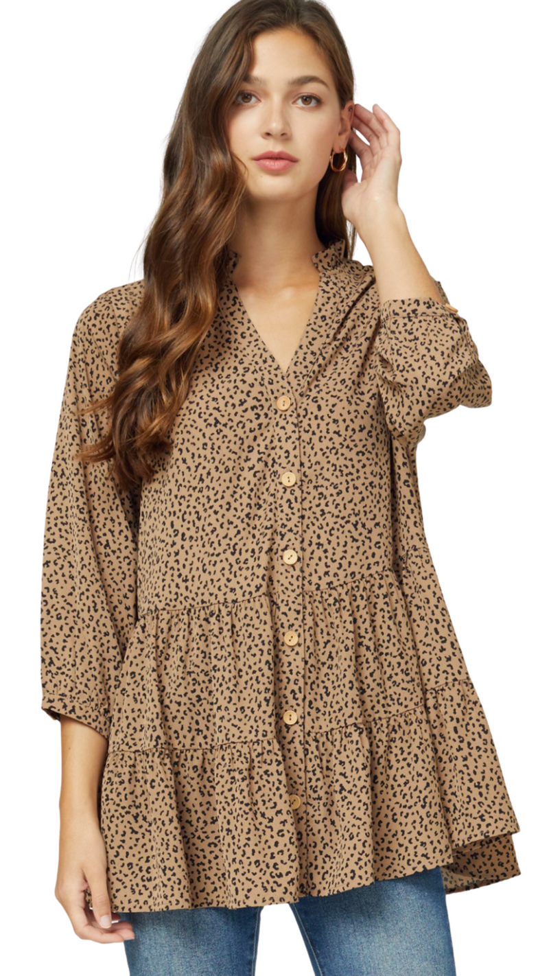 Leopard Lolly Tunic