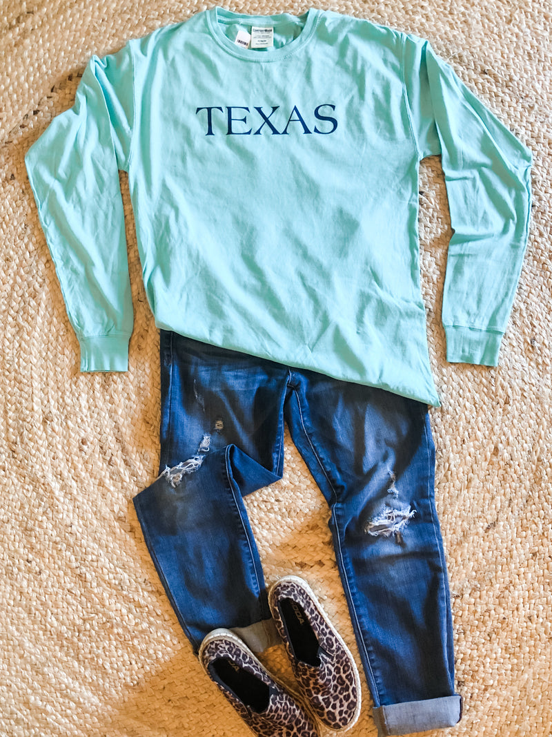Texas Seaside Collection Long Sleeve Tee