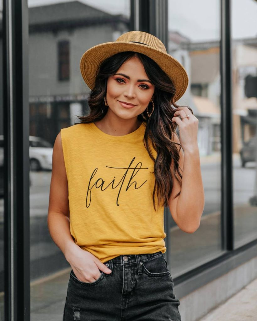 Faith Muscle Tank