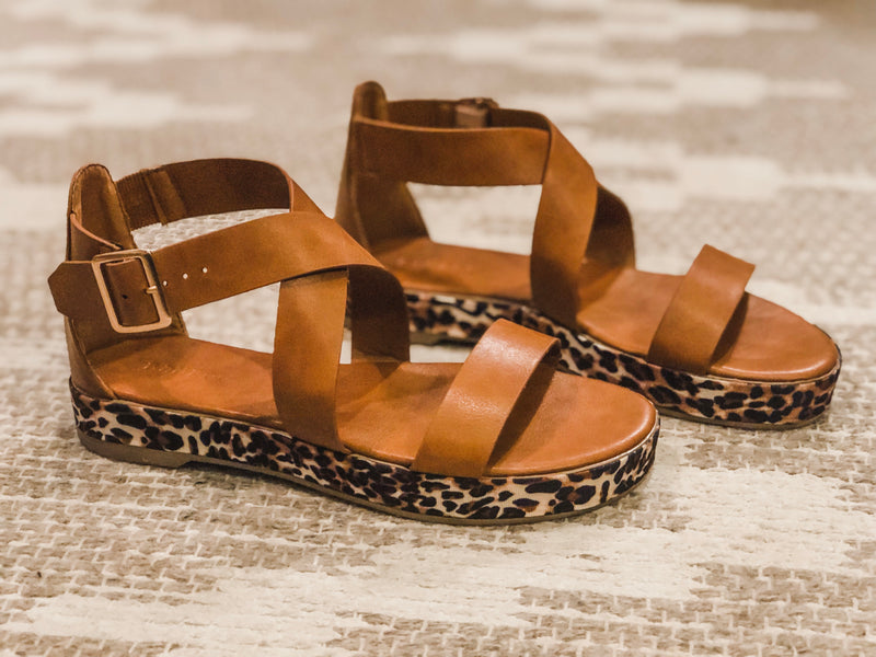 Leopard Lucy Sandals