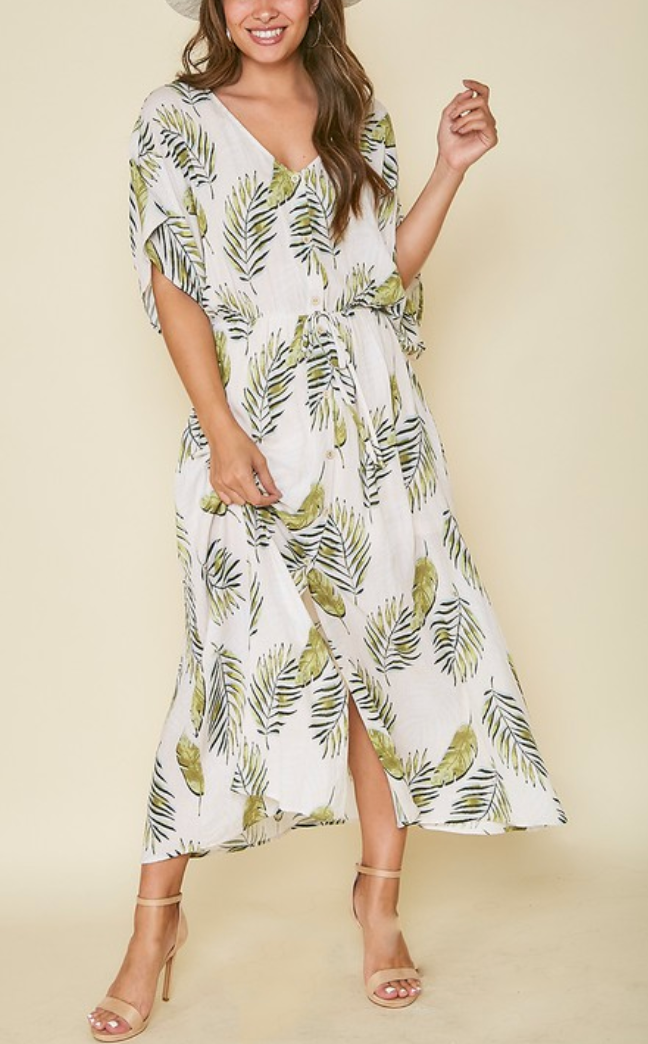 Palms in Summer Dress