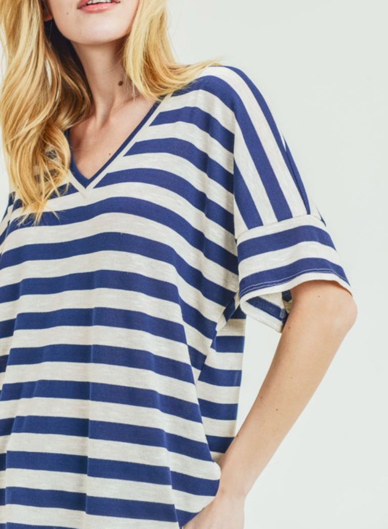 Striped Sister Tee