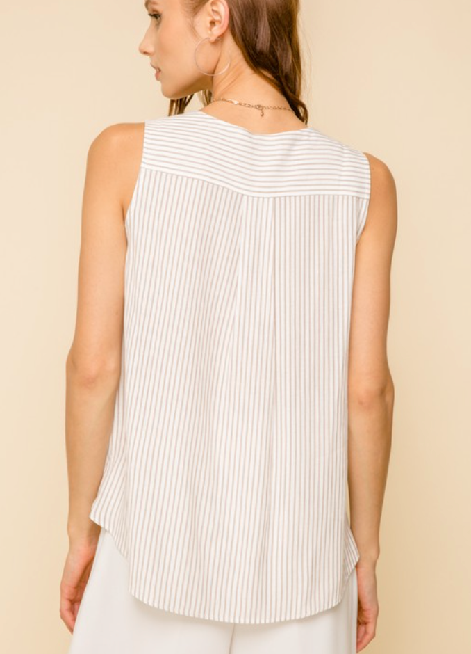 Surplus Stripes Top