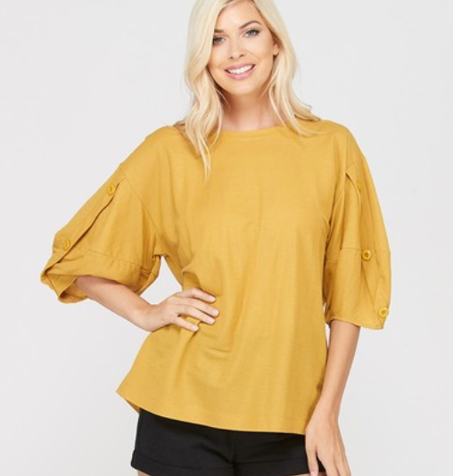 Button Sleeve Betty