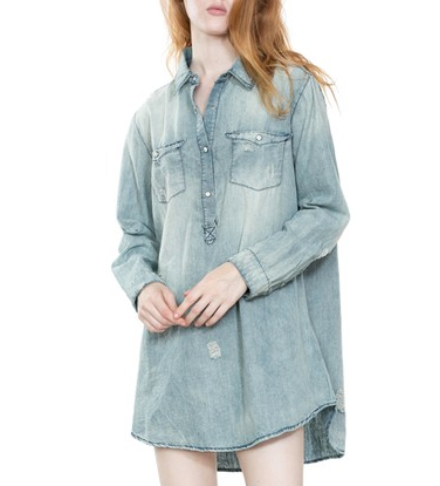 Distressed Cowgirl Tunic