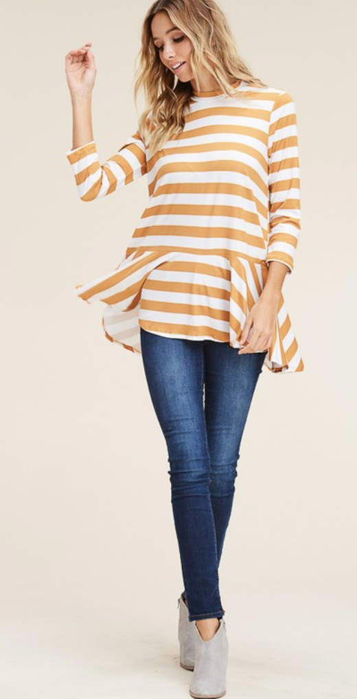 Suzy Stripes Top