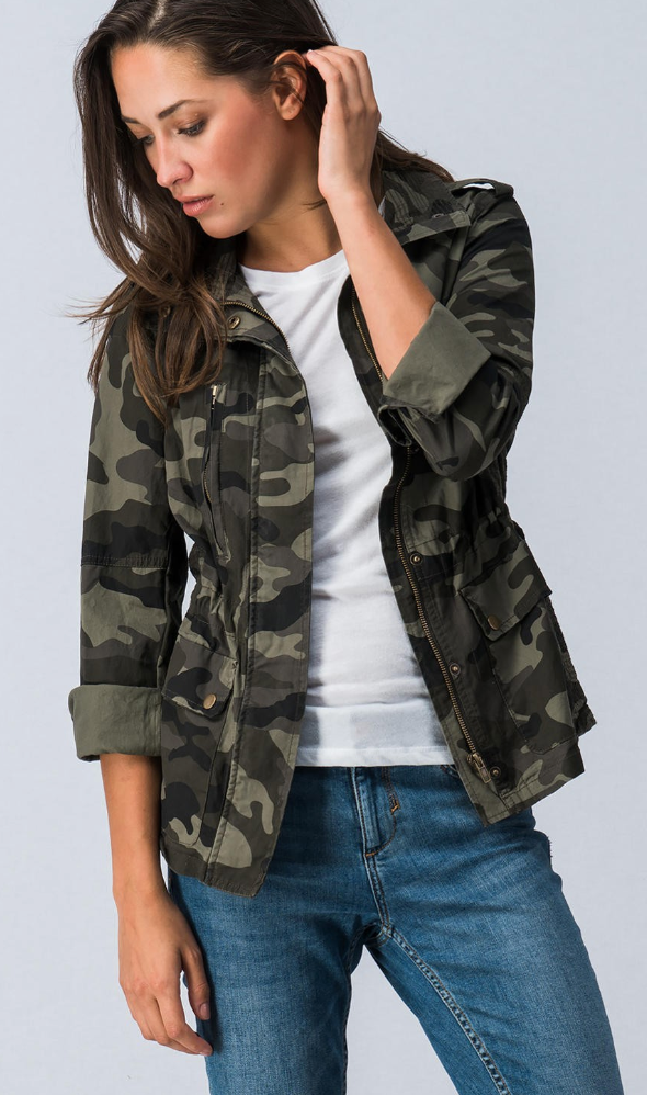 Fly Girl Camo Jacket