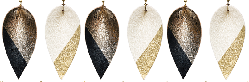 Holiday Exclusive! Dipped Zia Earrings