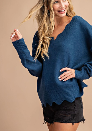 Scallop Susan Sweater