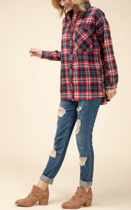 Lumberjack Lady Top