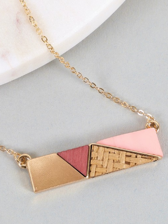Mixed Bar Necklace