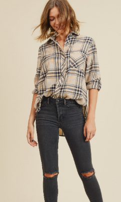 Fall Plaid Shirt