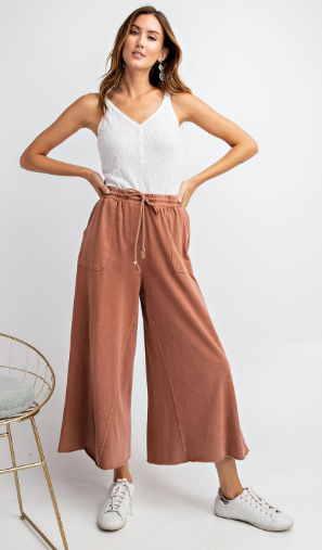 Wide Leg Sweat Pant