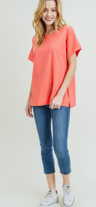 Drop Shoulder Tee