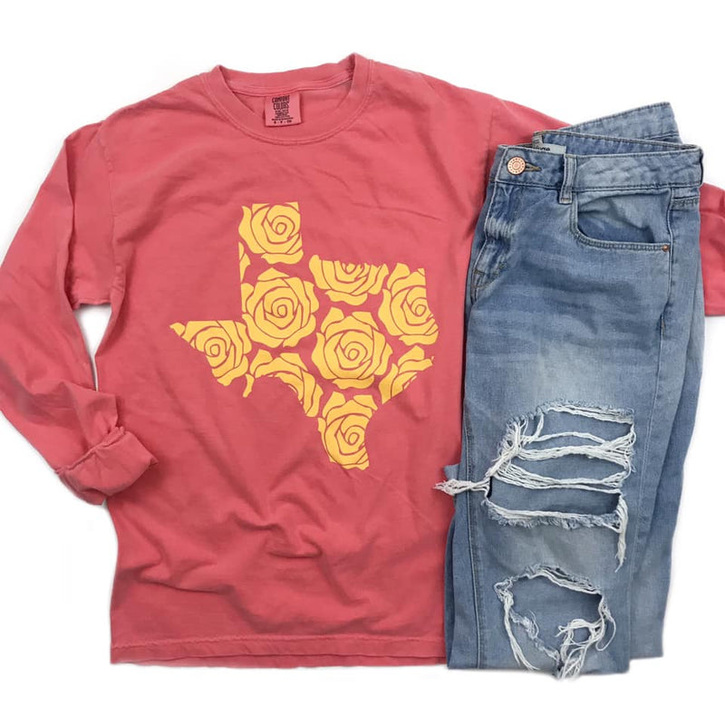 Yellow Rose of Texas- Long Sleeve