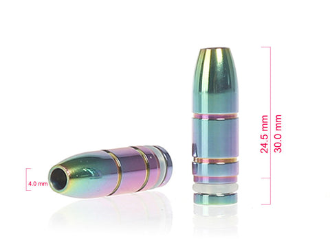 Bullet Style Metal Drip Tips (SS026)