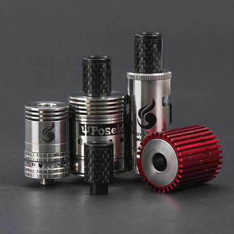 Push Fit Carbon Fibre Wide Bore Drip Tip (CF005)