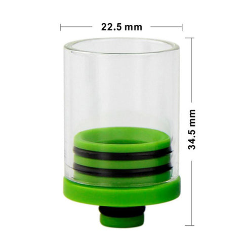 Super Wide Bore 510 Plastic & Glass Drip Tips (GLS014)