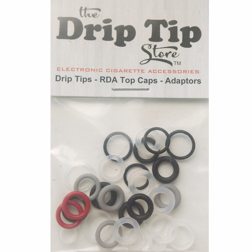 Spare Drip Tip O' rings - 30 Pack