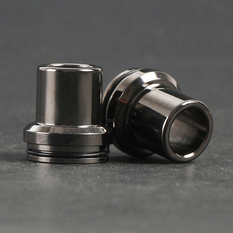 Chuff Enuff Style 22mm Domed RDA Top Cap. Available In Copper, Brass or Graphite Finishes (RDA017)