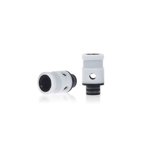 PTFE & Delrin Dual Hole Adjustable Air Flow Wide Bore Drip Tips (AIR007)