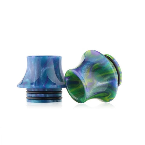 Resin Drip Tip To Fit The Smok TFV12, TFV8 & TFV8 Big Baby/Smok Skyhook/Geekvape Griffin/Kennedy/Custom Vapes Goon/Complyfe Battle/Desire Mad Dog RDA's (RES014)