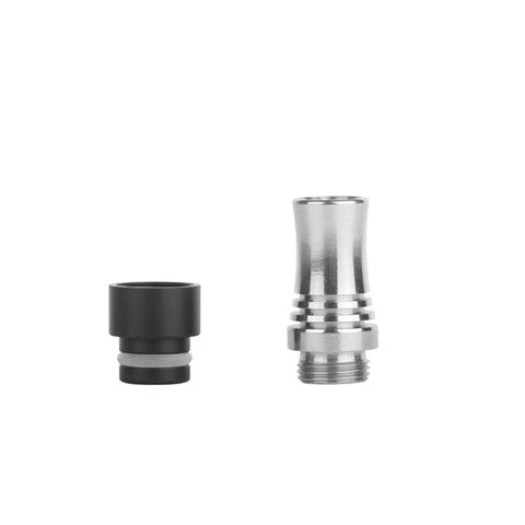 Uniquely Designed Stainless Steel & Delrin 9 Hole Air Flow Wide Bore Drip Tip (AIR006)