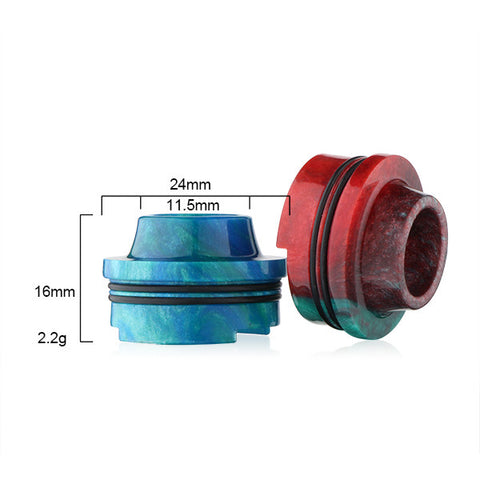 Resin Drip Tip (Top Cap) To Fit Limitless RDTA (RES004)
