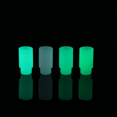 Basic Push Fit Glow In The Dark Plastic Drip Tips - Pack of 5 (PLA031)