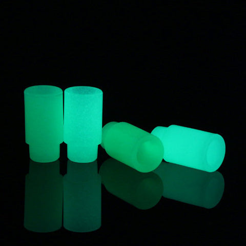 Basic Push Fit Glow In The Dark PVC Drip Tips (PLA031)