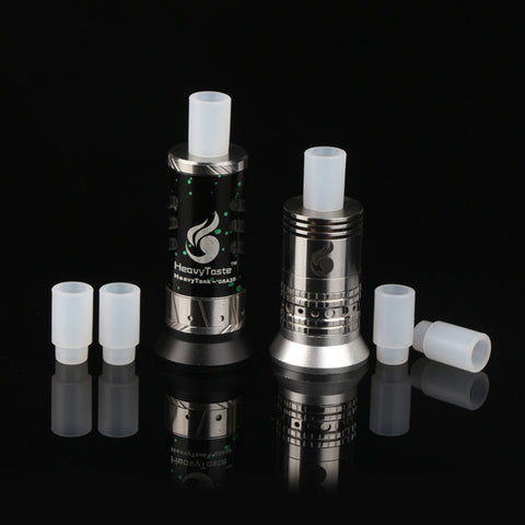 Basic Push Fit Frosted Plastic Drip Tips - Pack of 5 (PLA030)