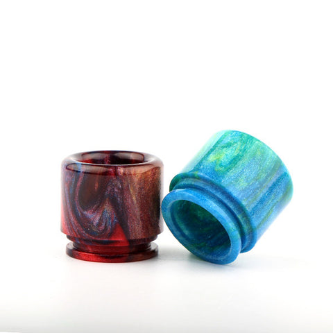 Resin Drip Tip To Fit The Vaperz Cloud Temple & X1 RDA (RES007)