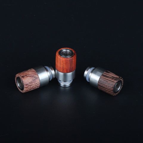 Half Stainless Steel & Half Wood Drip Tips (WD011)