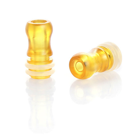 Plastic Nipple Design Twin O-Ring Wide Bore Drip Tips (PLA001)
