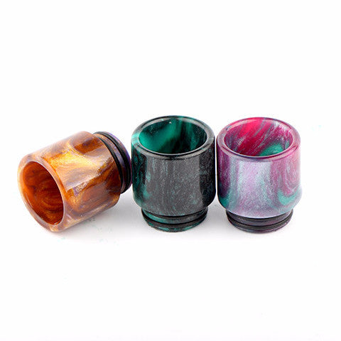 Resin Drip Tip To Fit The Smok TFV12, TFV8 & TFV8 Big Baby/Smok Skyhook/Geekvape Griffin/Kennedy/Custom Vapes Goon/Complyfe Battle/Desire Mad Dog RDA's (RES009)