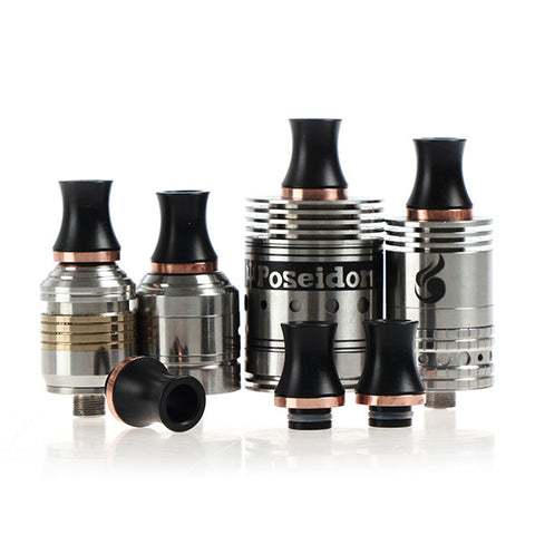 Delrin & Copper Stingray Style Wide Bore Drip Tip (CP004)