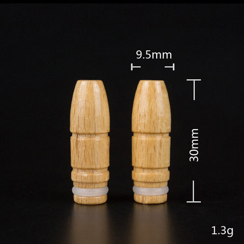 Wood Bullet Style Drip Tip (WD008)