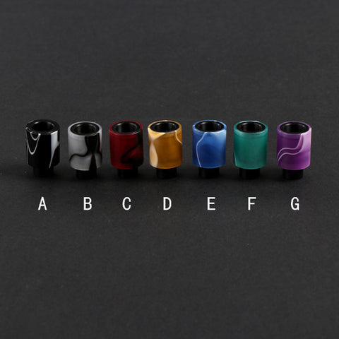 Acrylic & Delrin Friction Fit Wide Bore Drip Tip