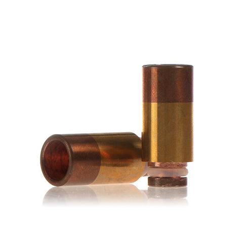 Copper & Brass Wide Bore Drip Tip - Type B (CP002)