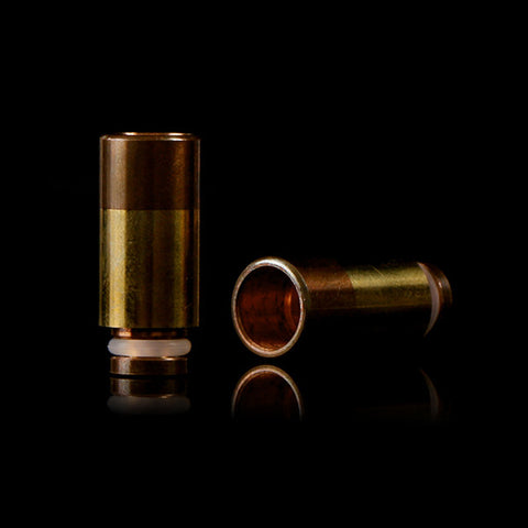 Copper & Brass Wide Bore Drip Tip - Type B (CP001)