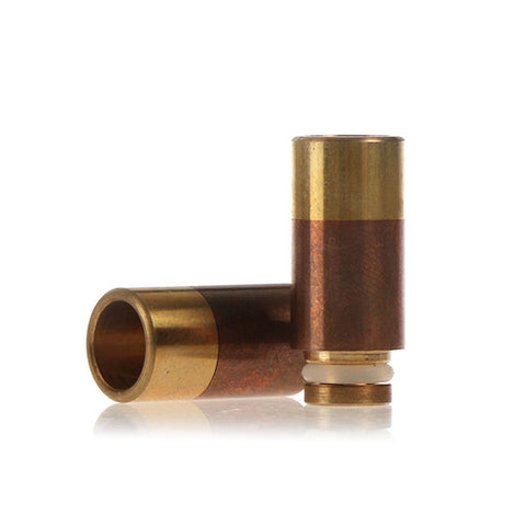 Copper & Brass Wide Bore Drip Tip - Type A (CP001)